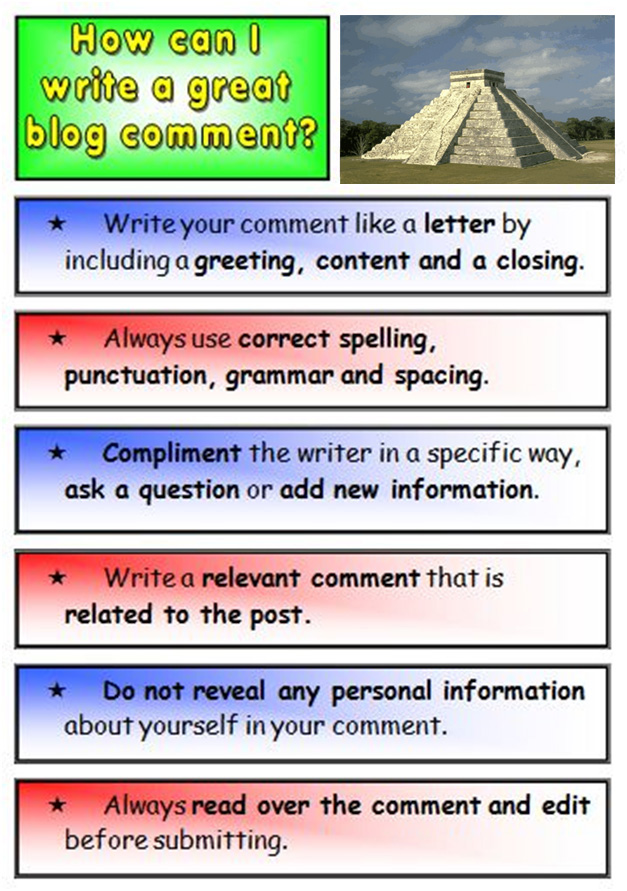 Easy steps to writing good comments.